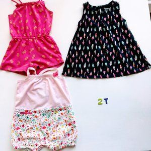 Deux Par Deux & Joe Fresh lot for girls - 2T